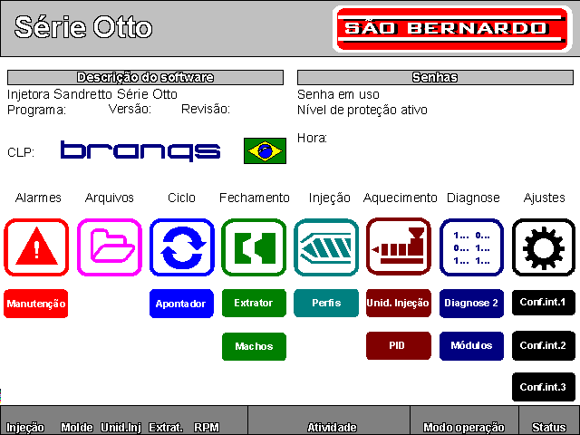 Software para Injetora Sandretto Serie Otto